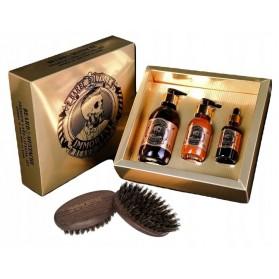 Zestaw Immortal Infuse Beard Care Set 3in1 ( Shampoo,Balm, Oil)