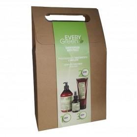 Every Green Anti-Frizz Set (Shampoo 500ml/Mask 250ml/Serum 100ml)