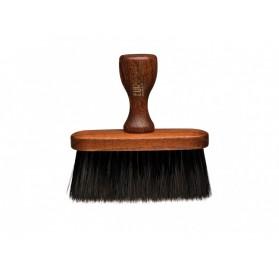 Barber Line Wood Neck Brush