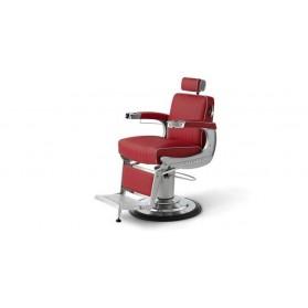 Takara Belmont Fotel barberski Apollo 2 czerwony