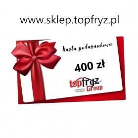 Topfryz Group Karta Podarunkowa 400 zł