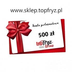Topfryz Group Karta Podarunkowa 500 zł