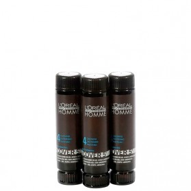 Loreal Homme Cover 5' nr 4 Brown 3x50ml