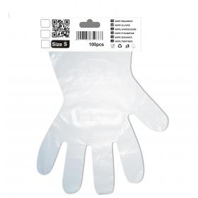 Gloves HDPE S 100szt/op