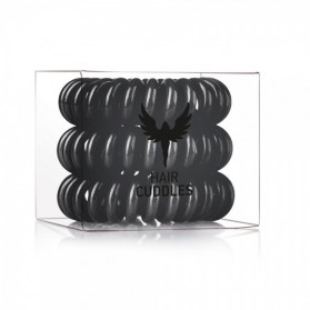 Hair Bobbles Black 3szt