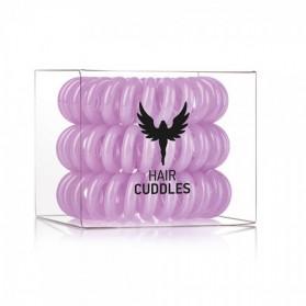 Hair Bobbles Purple 3szt