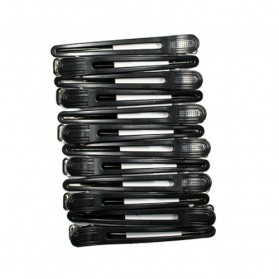 Ronney Hair Clip Black L 99mm 12szt