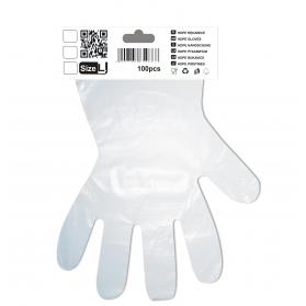 Gloves HDPE L 100szt/op