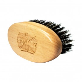 Ronney Wooden Beard Brush With Natural Bristels Small