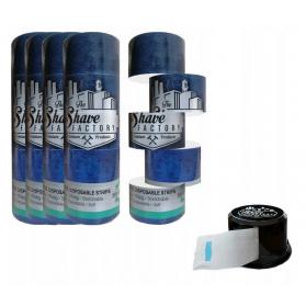 Zestaw Shave Factory Paper Neck 25szt + Pojemnik