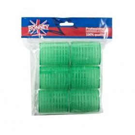 Ronney Velcro Rollers 48/63mm 12pcs