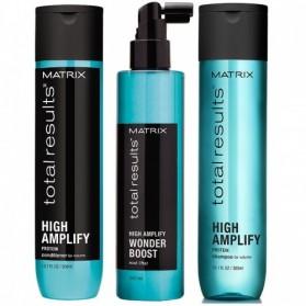 Zestaw Matrix High Amplify Shampoo 300ml + Conditioner 300ml + Spray 250ml