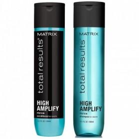 Zestaw Matrix High Amplify Shampoo 300ml + Conditioner 300ml