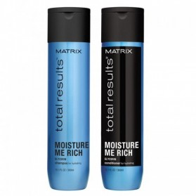 Zestaw Matrix Moisture Me Rich Shampoo 300ml + Conditioner 300ml
