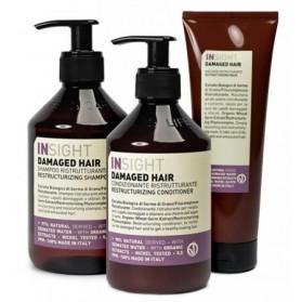 Zestaw Insight Damaged Hair Shampoo 400ml + Conditioner 400ml + Mask 250ml