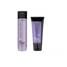 Zestaw Matrix So Silver Shampoo 300ml + Mask 200ml