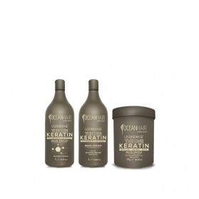 Zestaw Ocean Hair Lisonday One Keratin 1000ml, 1000ml, 1Kg