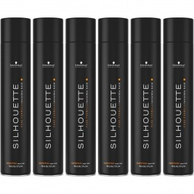 Zestaw Schwarzkopf Silhouette Pure Hold Hair Spray 750ml 6pcs