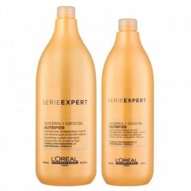 Zestaw Loreal Nutrifier Shampoo 1500ml + Conditioner 1000ml